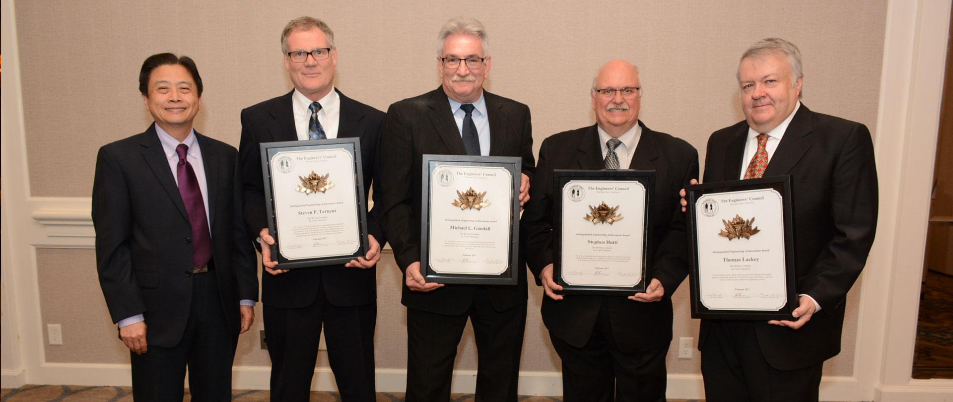 2017 Distinguished Engineering Achievement Award Winners
