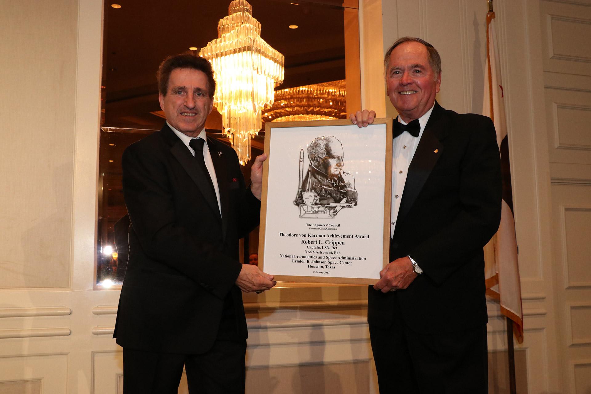2017 Theodore von Karman Achievement Award Winner- Robert L. Crippen