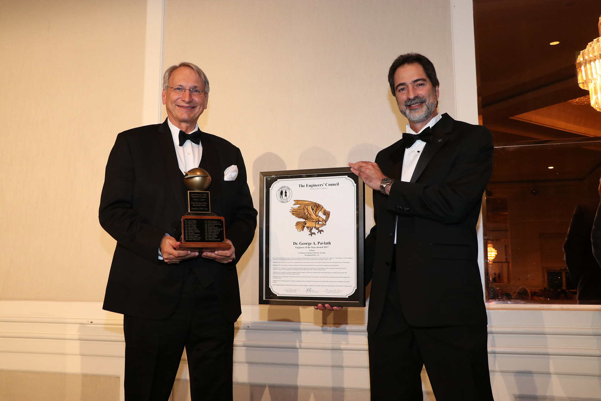 2017 Engineer of the Year- Dr. George A. Pavlath