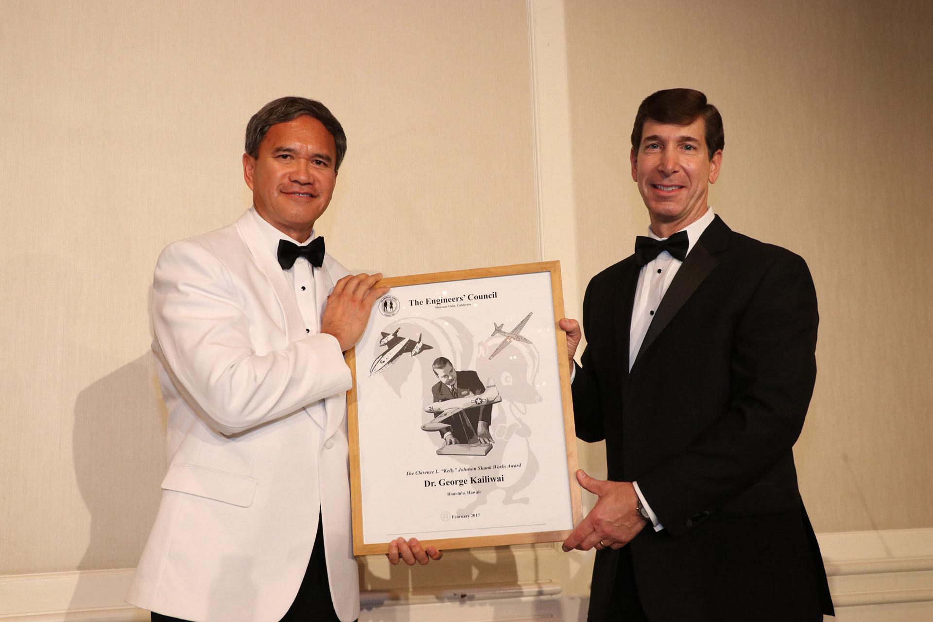 2017 Clarence L Kelly Johnson Skunk Works Award Winner- Dr. George Kailiwai