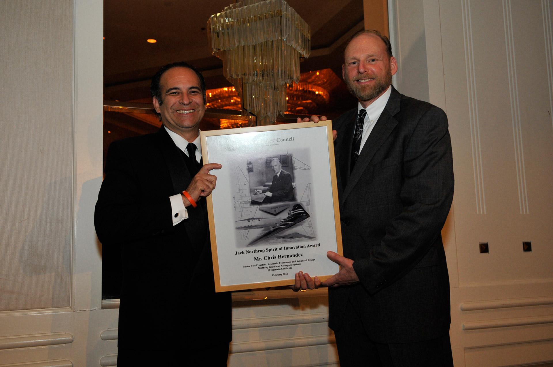 Chris Hernandez – 2016 Jack Northrop Spirit of Innovation Award